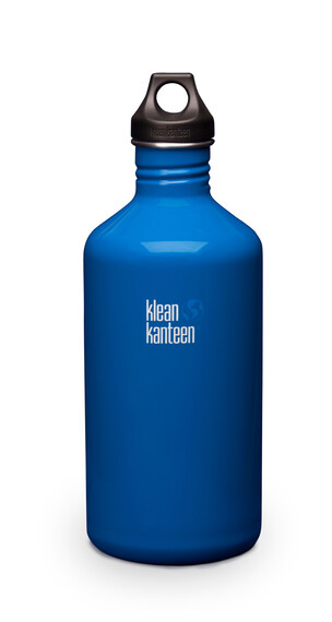 Klean Kanteen Classic - Gourde - avec bouchon attachable 1900 ml bleu
